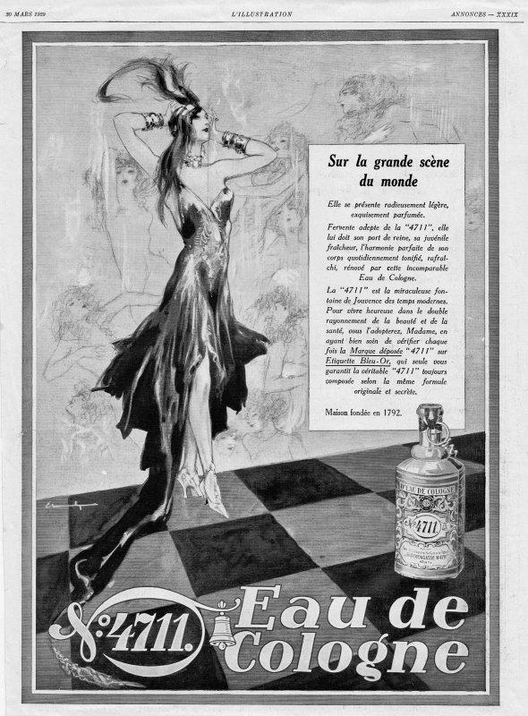 🌸 Muelhens ✿ 4711 🌸 Pub de l'année 1929 🌸