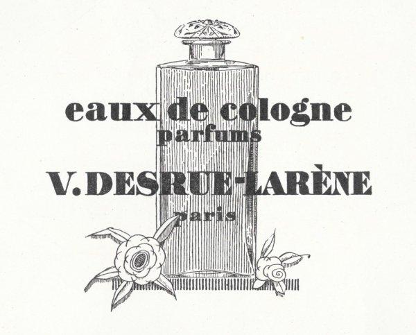 🌸 Desrue-Larène  ✿  Eaux de Cologne 🌸