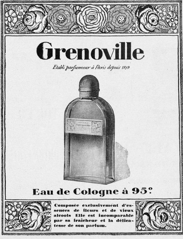 🌸 Grenoville ✿ Eau de Cologne à 95° 🌸