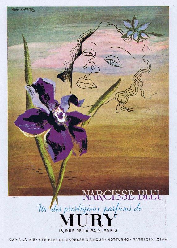 🌸 Mury ✿ Narcisse bleu 🌸