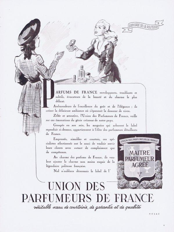 🌸 Union des Parfumeurs de France 🌸
