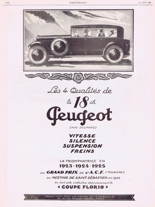 🚗  Automobile 🚗 Peugeot 🚗