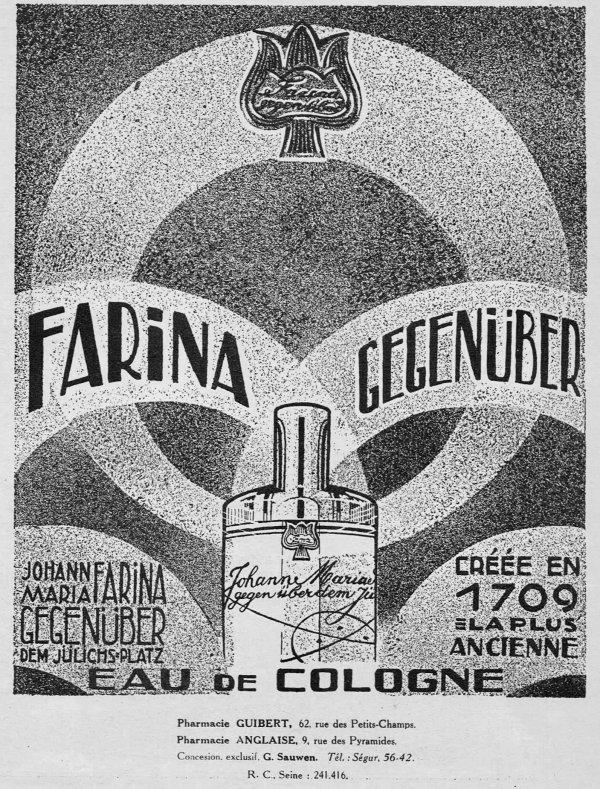 🌸 Farina Jean Marie ✿ Eau de Cologne 🌸