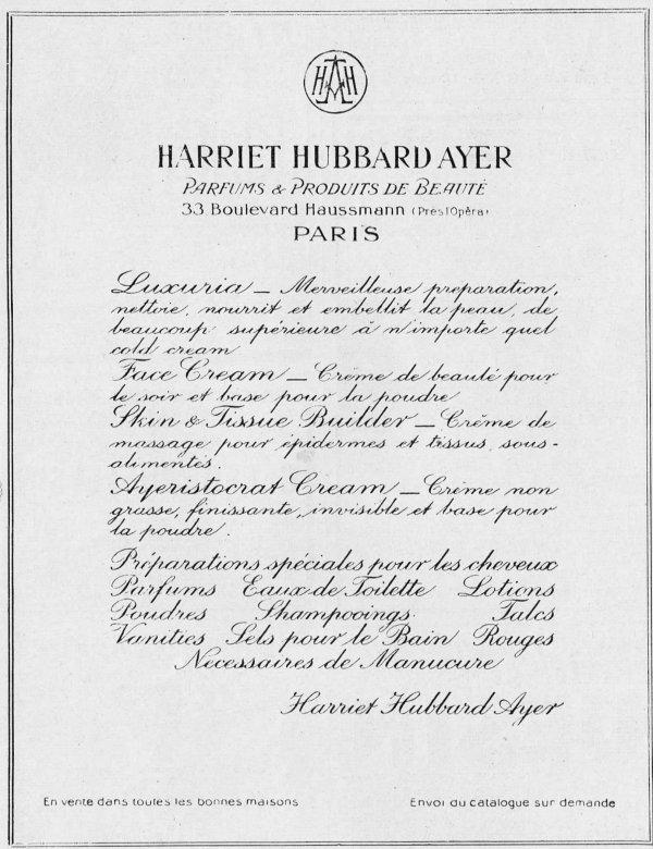 🌸  Ayer Harriet Hubbard - USA  🌸