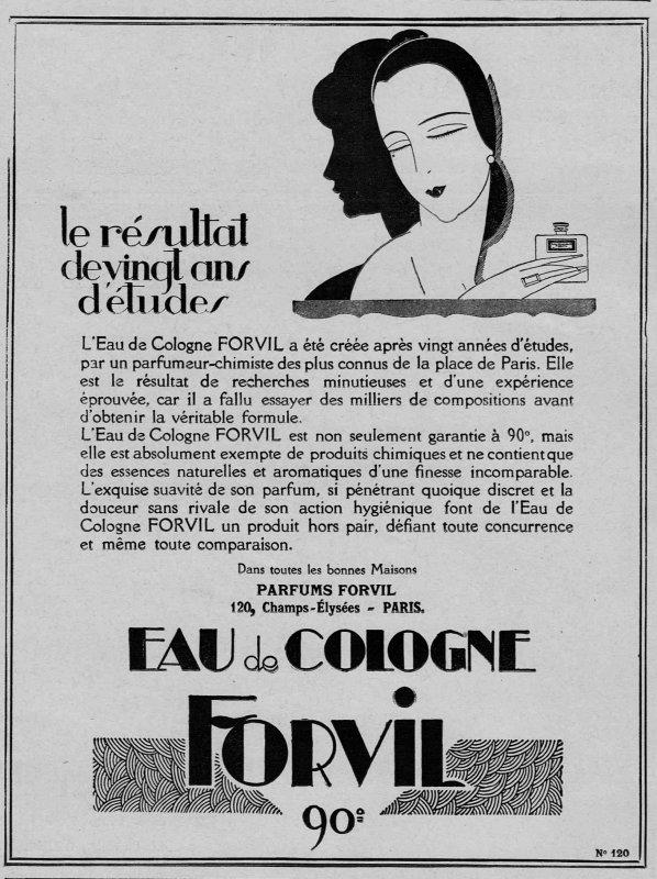 🌸 Forvil ✿ Eau de Cologne 🌸