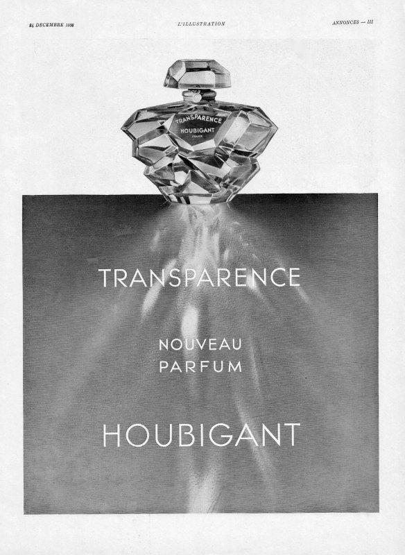 🌸 Houbigant ✿  Transparence 🌸