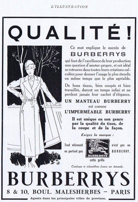 👔👗 Mode Anglaise 👗 Le Burberry 👔👗