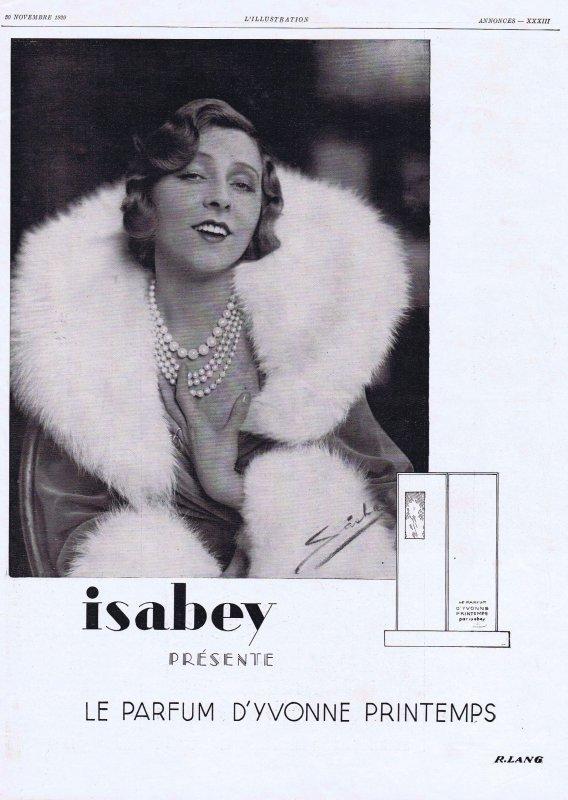 🌸 Isabey ✿ Le parfum de d'Yvonne Printemps 🌸