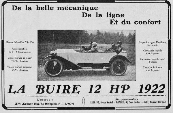 🚗  Automobile  🚗  La Buire 🚗