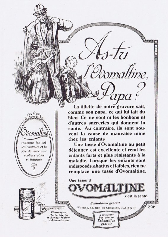 ☕ Boisson chocolatée  🍫 Ovomaltine ☕