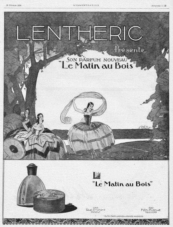 🌸 Lenthéric ✿  Le Matin au bois 🌸