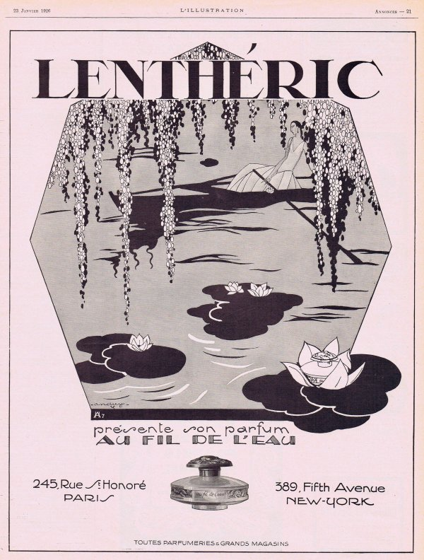 🌸 Lenthéric ✿  Au fil de l'eau 🌸