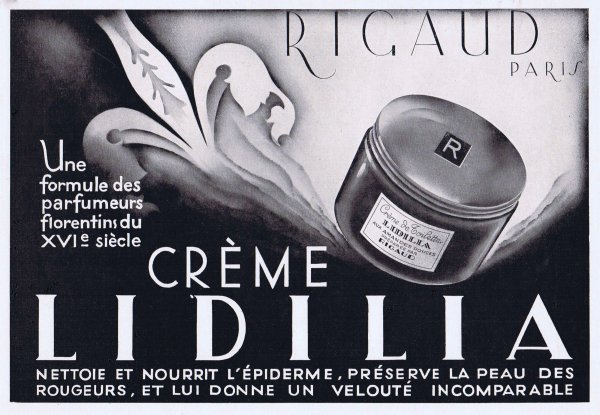 🌸 🧴 Rigaud ✿ Crème Lidilia 🧴 🌸