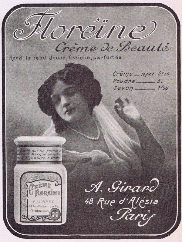 🧴 Crème  Floréïne  - Poudre🧴