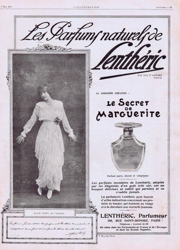 🌸 Lenthéric ✿  Le Secret de Marguerite 🌸