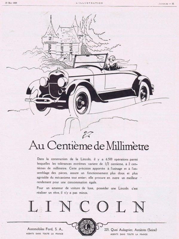 🚗 Automobile 🚗 Lincoln 🚗