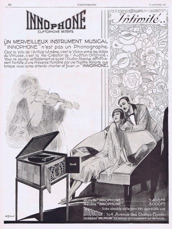 🎵  Musique 🎵 Gramophones & Phonographes  🎵