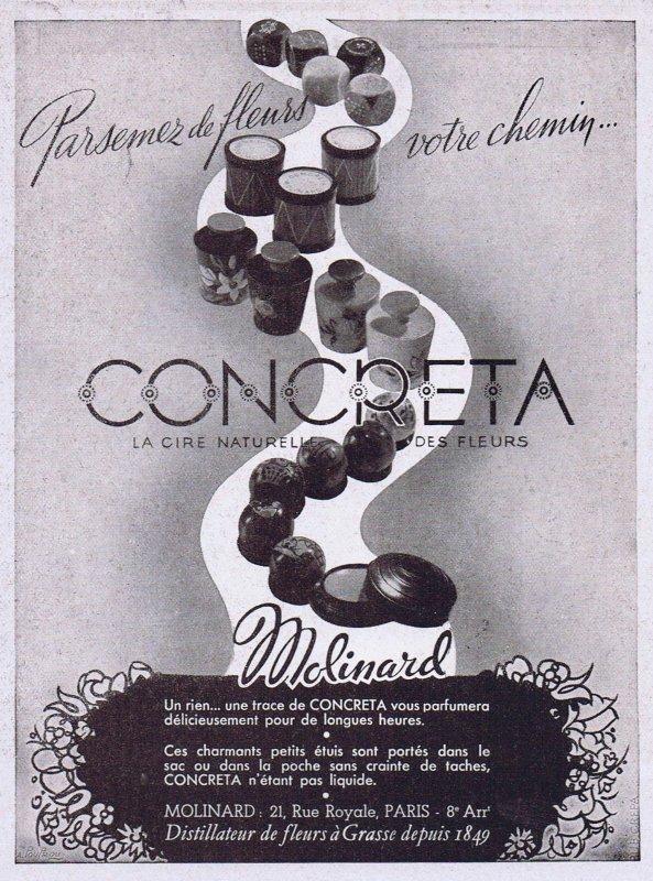 🌸 Molinard ✿ Concreta 🌸