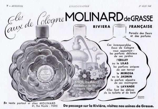 🌸 Molinard  💜  multi parfums 🌸