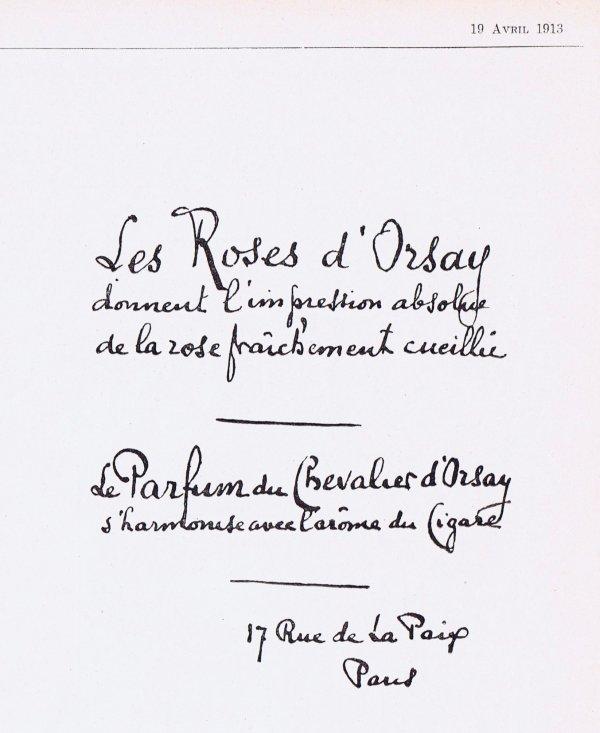 🌸 D'Orsay  💜  multi parfums 🌸