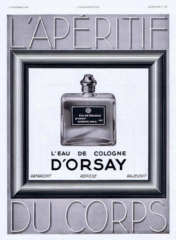 🌸 D'Orsay ✿  L'Eau de Cologne 🌸