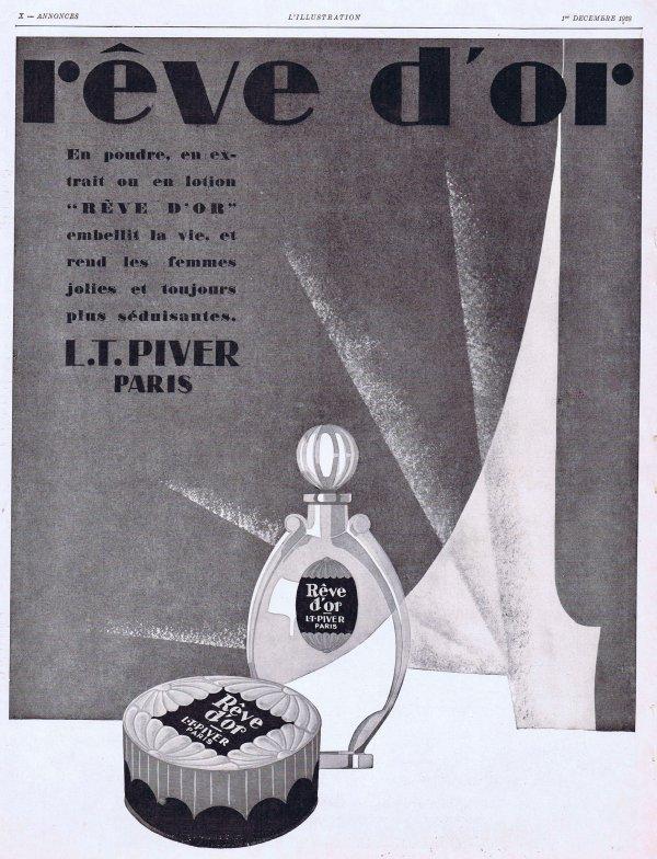 🌸 Piver L.T.  ✿  Rêve d'Or 🌸