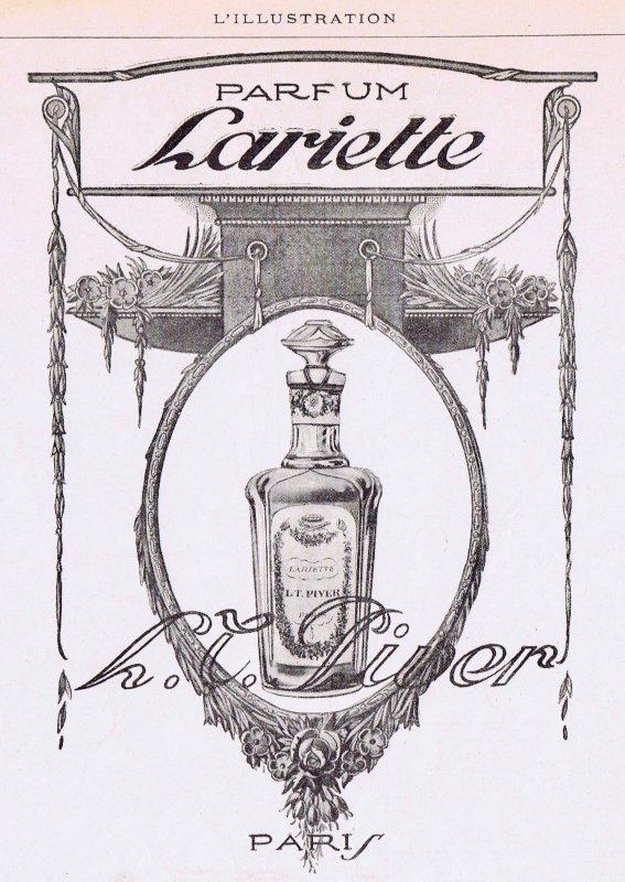 🌸 Piver L.T.  ✿  Lariette 🌸