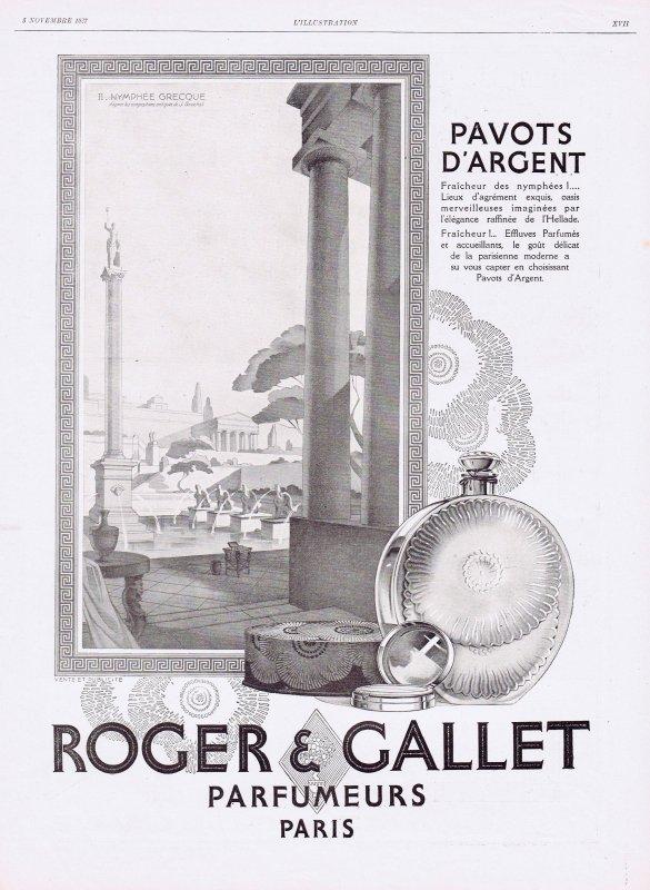 🌸 Roger & Gallet  ✿  Pavots d'Argent 🌸