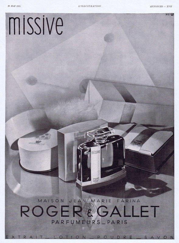 🌸 Roger & Gallet ✿  Missive 🌸
