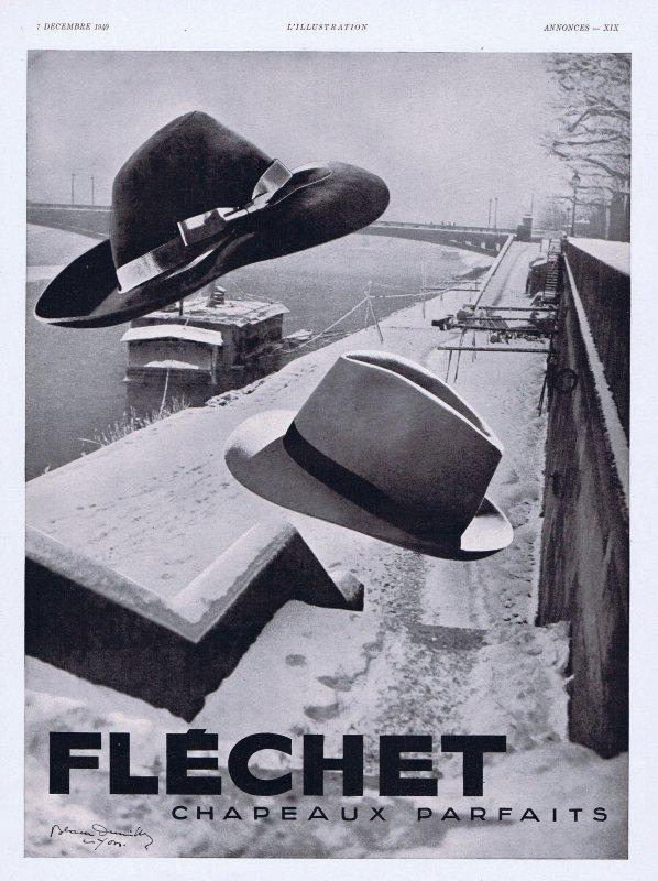 🎩 Mode Hommes 🎩 Accessoires  🎩 le chapeau Fléchet  🎩