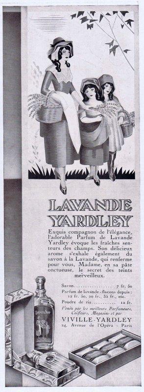 🌸 Yardley ✿ Lavande 🌸
