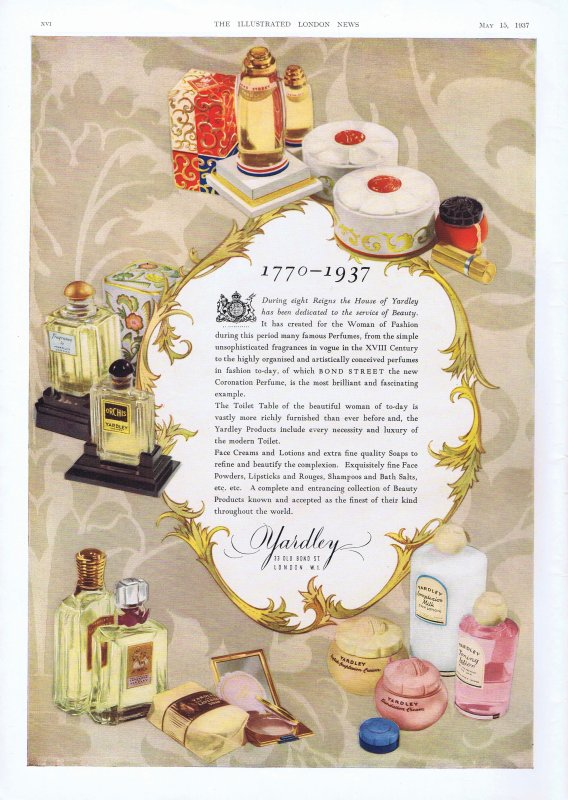 🌸 Yardley  💜  multi parfums 🌸