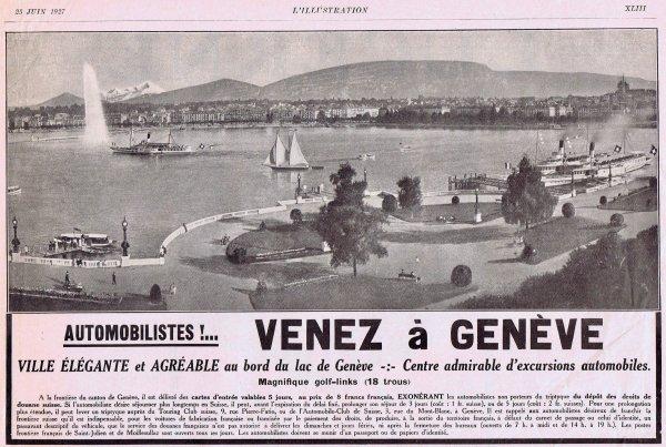 ✈  Genève d'autrefois  ✈