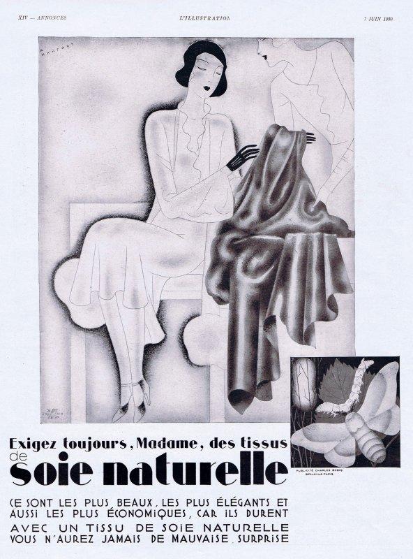 🧵 Tissu 🌷  La soie naturelle  🧵