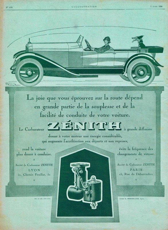 🚙  Automobiles 🚙  Accessoires - carburant Zénith  🚙