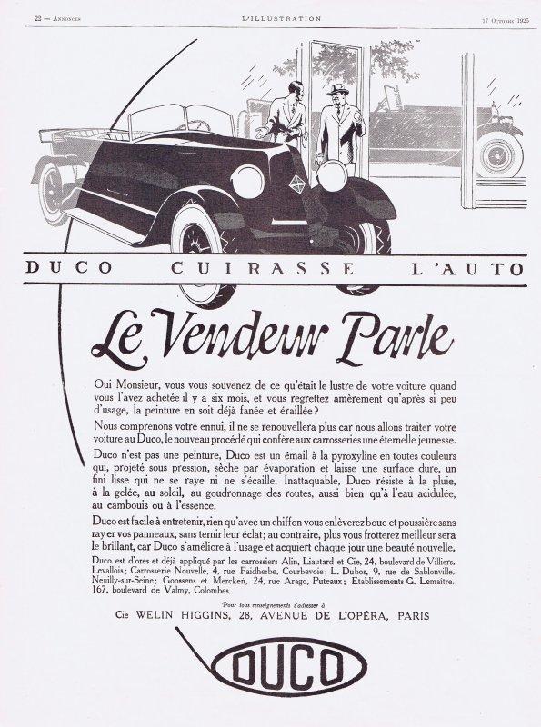 🚙  Automobiles 🚙 Accessoires - Duco entretien pour la carrosserie  🚙