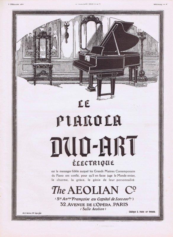 🎹 Musique 🎹 Le Pianola 🎹