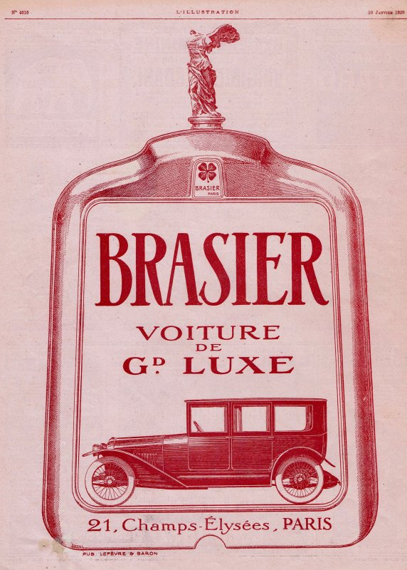 🚗 Automobile  🚗  Brasier 🚗