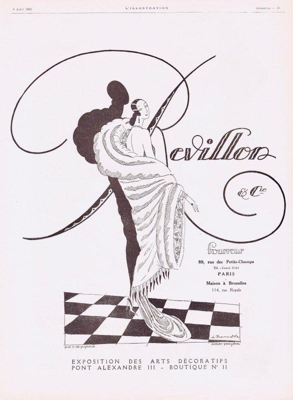 👗  Mode Dames  👗 Revillon Fourrures 👗