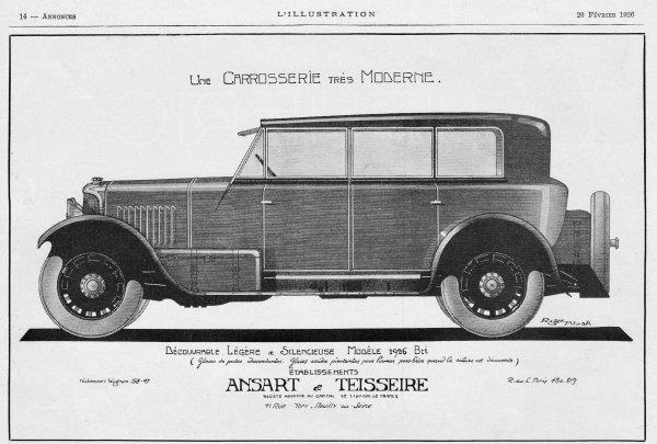 🚗 Automobile  🚗  Ansart & Teisseire 🚗