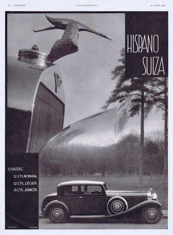 🚗 Automobile 🚗 Hispano-Suiza 🚗
