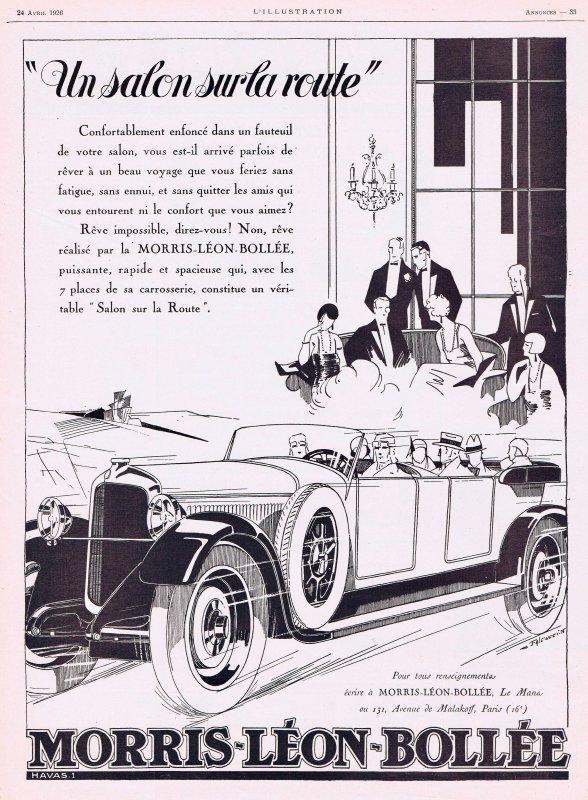 🚗 Automobile 🚗  Morris-Léon-Bollée 🚗