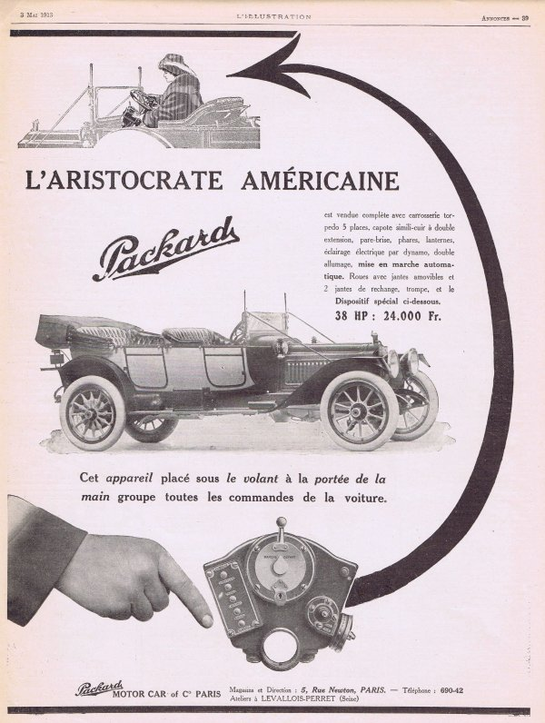 🚗 Automobile 🚗  Packard  🚗