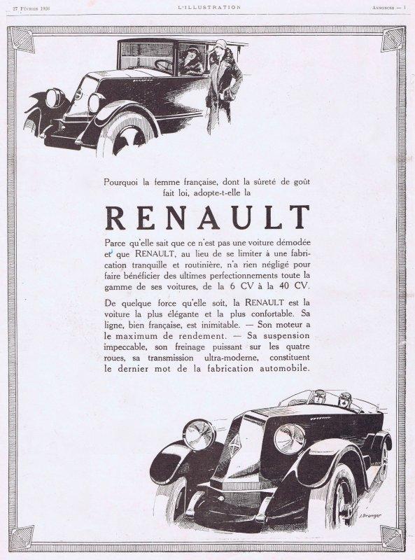 🚗  Automobile  🚗  Renault 🚗