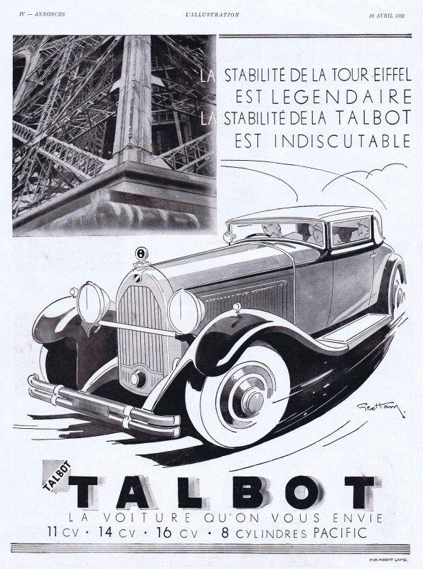 🚗 Automobile 🚗  Talbot  🚗