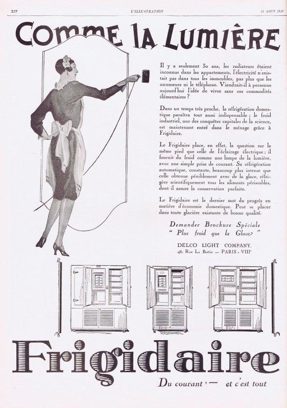 🧹 Les  appareils ménagers  🧹  Frigidaire  🧹