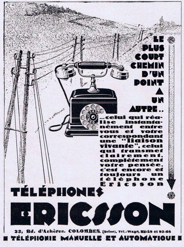 ☎ Téléphone ☎ Ericsson ☎
