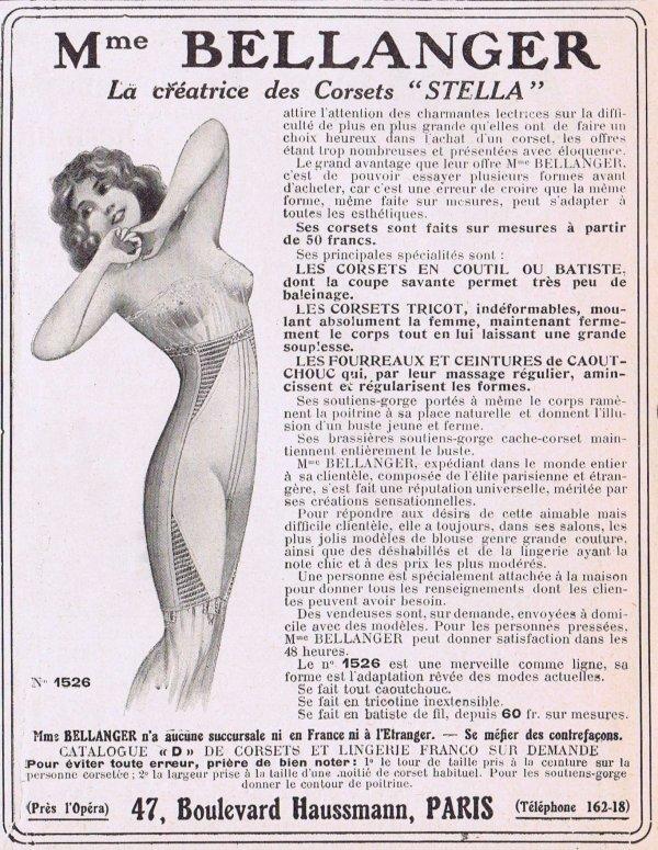 👙 Les dessous chic 👙 Madame Bellanger 👙