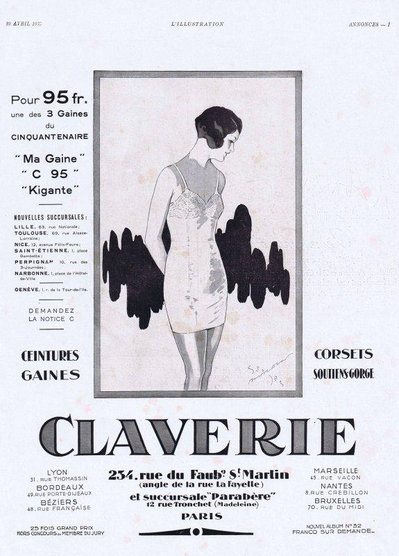 👙 Les dessous chic 👙  Claverie 👙