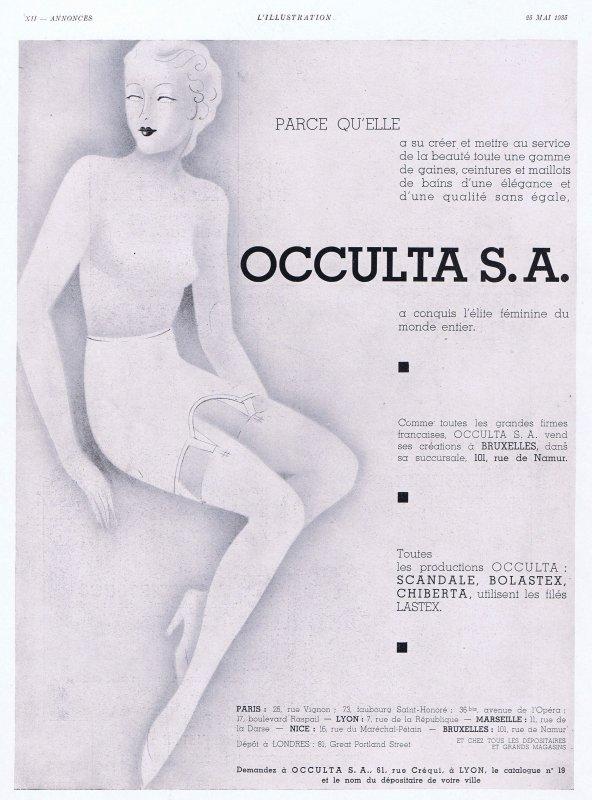 👙 Les dessous chic 👙 Occulta 👙